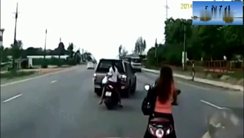 如果没有行车记录仪,你想不到两个美女会这样结束了生命!
