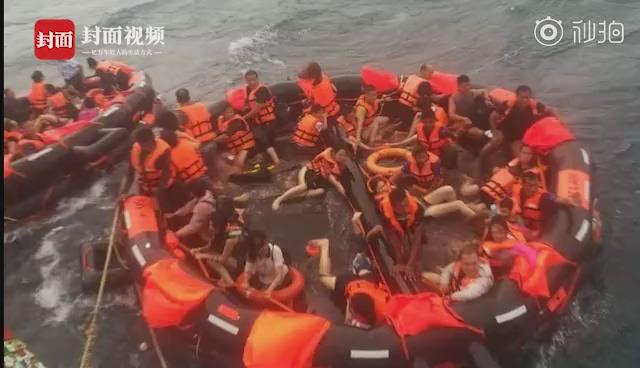 载有中国游客游船普吉岛翻覆 官方曾多次发布风浪提醒