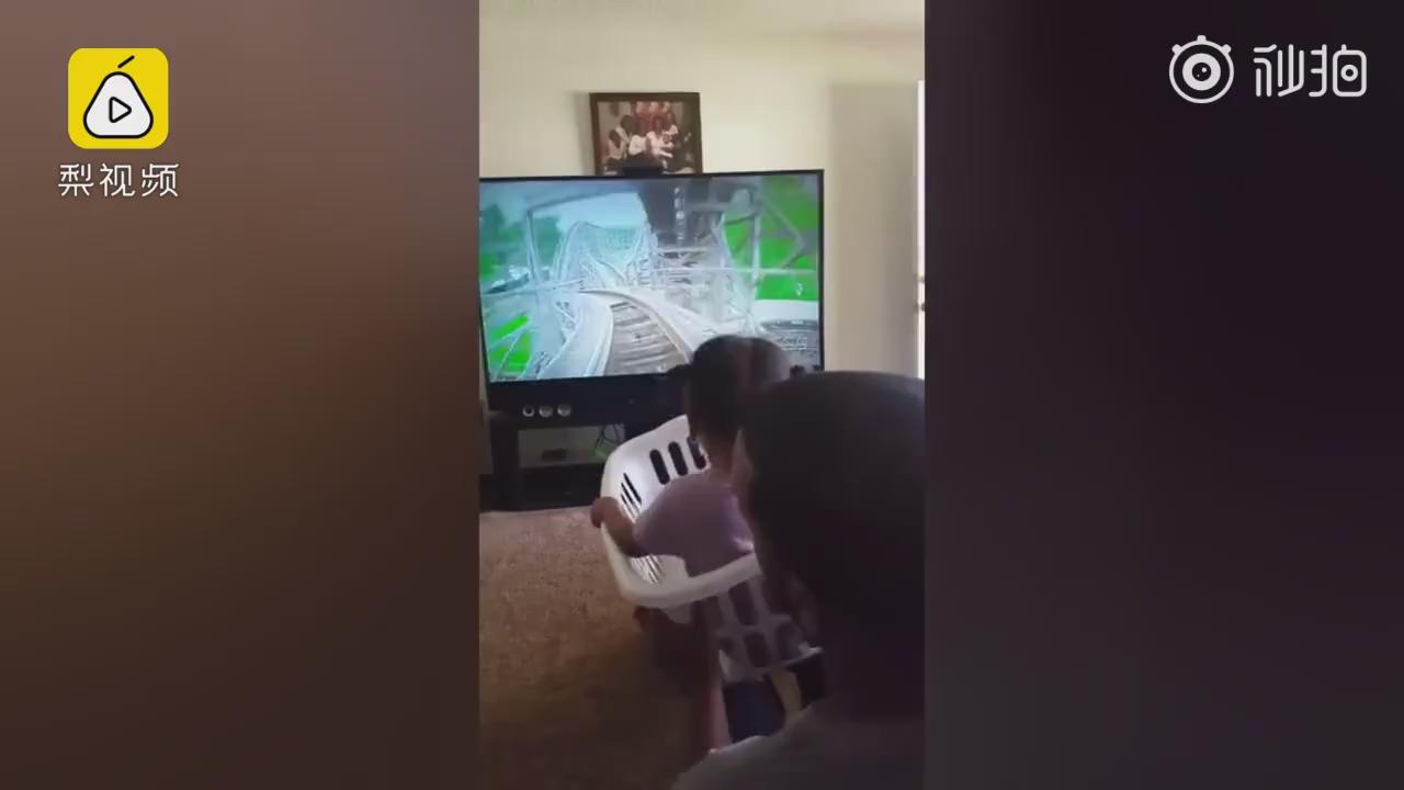 爸爸牌人肉VR过山车