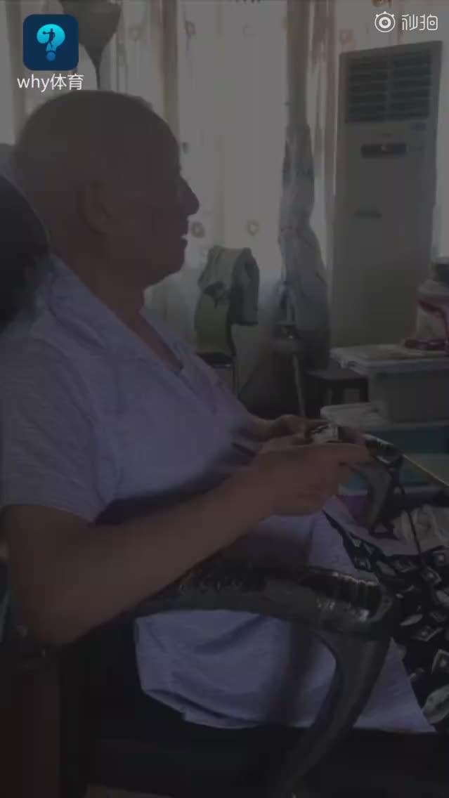 每天打,83岁爷爷20年通关数百游戏